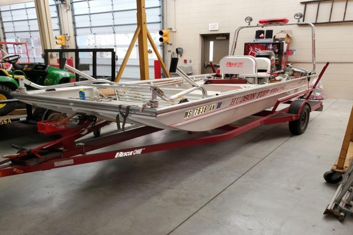 Dive Rescue Boat