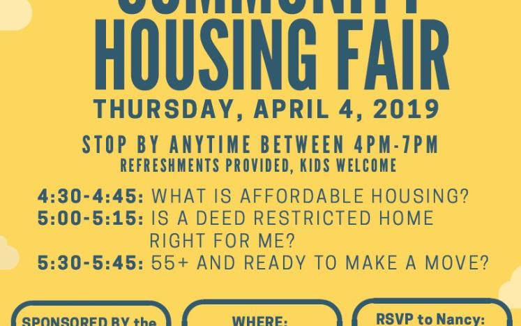Affordable Housing Fair- Stow